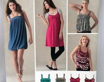 ON SALE Simplicity 3882, Misses' Sundress Sewing Pattern, Spaghetti Strap Dress Pattern, Misses' , Size 4, 6, 8, 10, 12, Uncut