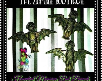 Haunted Mansion Bat brooch