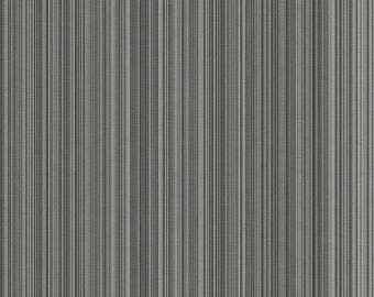 LL29540 Black Grey Stria Stripe Wallpaper - Yard