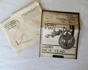 World War II V Mail Official War and Navy Letter