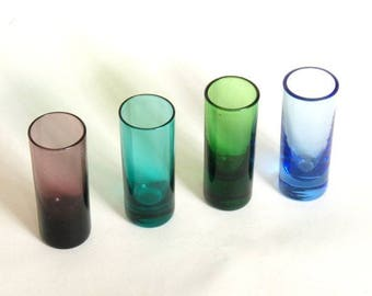 Colorful Cordial Glasses (4)