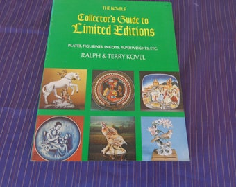 Kovel's Collectors Guide to Limited Edition Published 1974