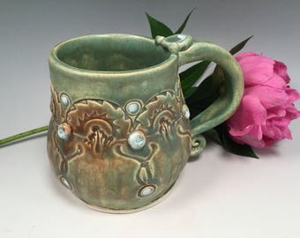 Pottery mug/mug/coffee mug/large coffee mug/tea mug/handmade mug