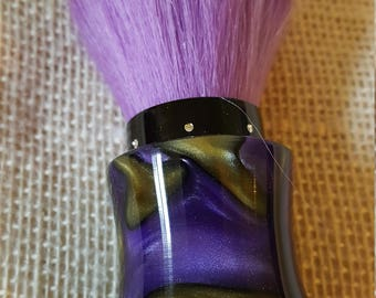 Luxury series Purple Haze Acrylic Makeup Powder Brush KB2