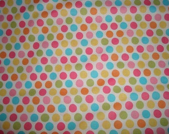Diddly Dots Fabric Yellow by Michael Miller -1 yard
