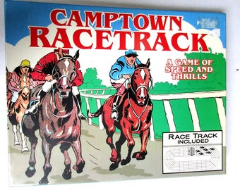 Vintage Camptown Racetrack - A Game of Speed and Thrills