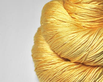 Sunny summer day - Silk Fingering Yarn - Knotty skein