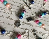 Custom Dangle Bead and Charm Earrings Disney Harry Potter Jewelry Made to Order