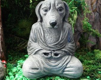 Dog Buddha, Zen Buddha Garden, Buddha Sculpture, Zen Garden, Spiritual, Zen