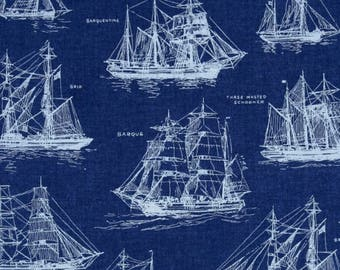 Boys Crib Bedding - Navy BLUE Nursery /Nautical Changing Pad Covers / Fitted Crib Sheet Navy /BLUE Baby Bedding Ships /Mini Crib Bedding Set