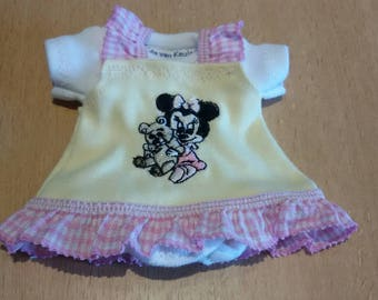 Dress set for 6 1/2 - 7 inch baby