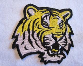 LSU Tigers Iron On Patch, LSU Patch, Tiger Patch, LSU Tigers Applique, Iron On Patch, Spiorts Patch, Football Patch