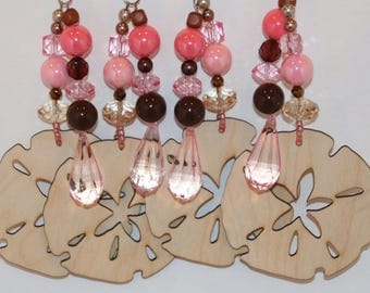 Sand Dollars Wooden Tablecloth Weights