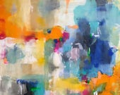 Abstract Expressionist Co...