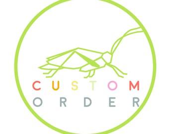 Custom Listing for  Rebekah Hinnant