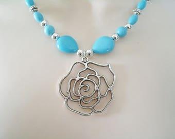 Turquoise Necklace, southwestern jewelry southwest jewelry turquoise jewelry native american jewelry style country western boho bohemian