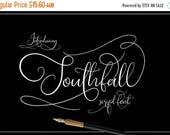 Digital Fonts 80% Off SALE Digital Wedding Font, Southfall Script, Hand drawn script font, modern Calligraphy, Cursive font