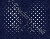 Navy Blue and White Pin P...