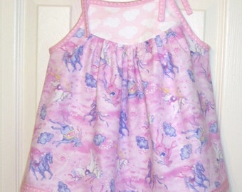 Pink Unicorn Dress Baby Girl/Toddler Girl/Little Girl's Dress