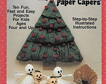 Kids Crafts using Paper Capers