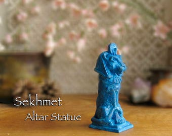 Handcrafted Altar Statues And Amulets Of By Shadowofthesphinx