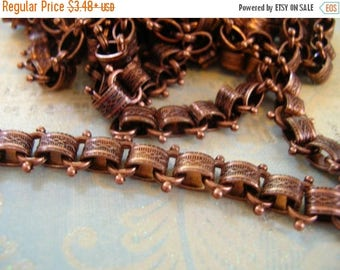 SALE Repurpose Vintage Reproduction Book Chain Antique Copper plated Top Quality Design book chain