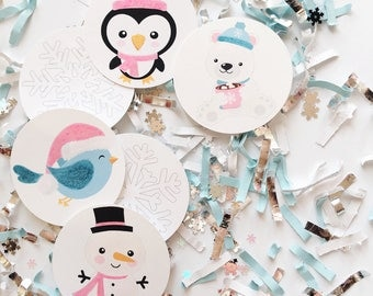 Winter ONEderland, Decorations, Winter Wonderland, Birthday, Blue, Silver, Snowflake, Party Supplies, Birthday Party, Baby Shower, Confetti