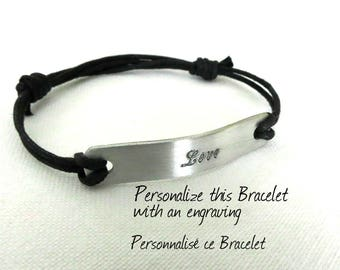 This is a Custom Listing for Aenede - Engraving on Back of Bracelet Extra Fee-