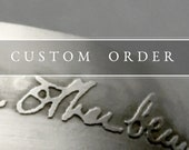 Custom ~Dandelion~ Cuff for Jane