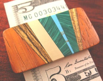 Father Gift for Dad Money Clip, Husband Gift for Men, Boyfriend Gift MC409-RR