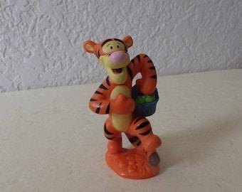 "Disney TIGGER Toy Figure/Cake Topper. Measures 3 3/4""."