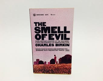 Vintage Horror Book The Smell of Evil by Charles Birkin 1969 Paperback Anthology