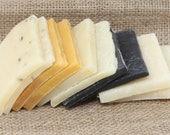Variety, Soap Ends Sampler, Homemade Soap, Handmade Soap, Natural Soap, Soap Box, Rustic soaps, essential oil soap sample