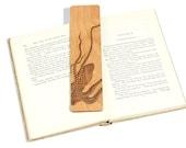 Octopus / Wood Bookmark