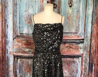 Norman Berg Sequin Dress