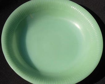 Fire King Jadeite JANE RAY Soup Bowl 7 1/2 Inches