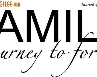 ON SALE Family a journey to forever