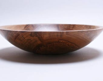 """Red Gum Wooden Bowl #1696  9 1/2"""" X 2 1/4""""  wooden bowls, red gum bowl, wood bowls, hand turned wooden bowl, handmade wood bowl"""
