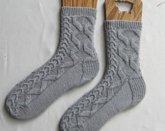 Knit Sock Pattern:  WestPort Socks Knitting Pattern