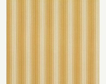 SALE 30% OFF - STRIPES in Maize Pwjd077 - Bungalow by Joel Dewberry - Free Spirit Fabric -  By the Yard