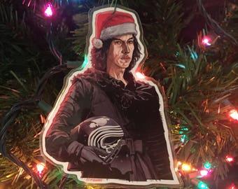 KYLO REN Star Wars Christmas ORNAMENT!