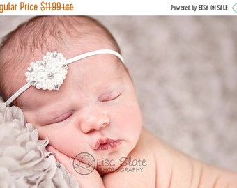 10% SALE Newborn headbands Baby headband Adult headband Child headband Baby hairbow Photo prop Preemie headband Teen headband hair clip Baby