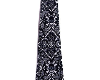 Black Skull ultra-limited-edition ultra-high quality necktie