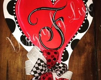 Heart Door hanger & Heart door hanger   Etsy