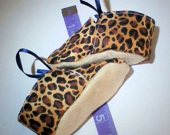Tiger Print Baby Shoes!