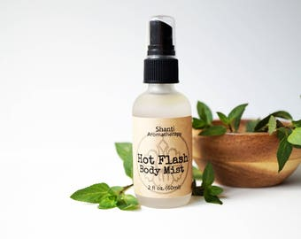Hot Flash Cool and Refreshing Body Mist - 2oz