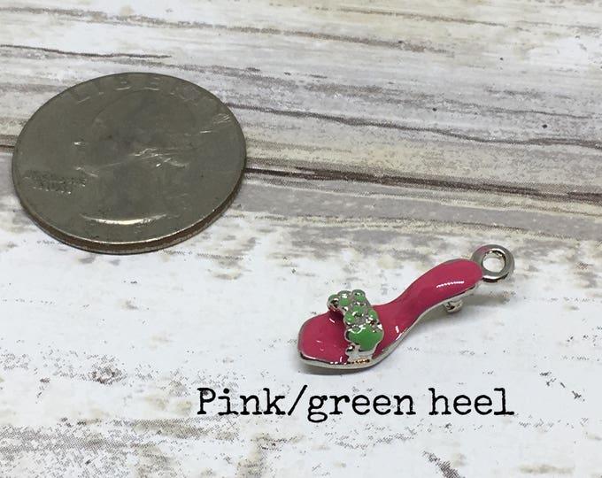 Shoe charm necklace
