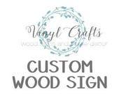 """Custom Wood Sign """"Be A Girl"""" 10x20 Boxed Edge"""