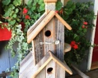 Rustic Wood Birdhouse