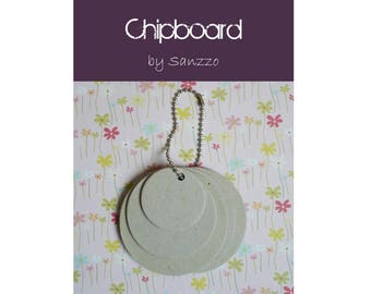 Mini Album multi-ronds chipboard for your creations